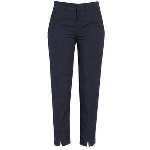 Joie Brookley Side Striped Solid crop Pants 8412